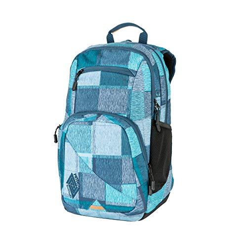 Nitro Stash 24 Rucksack, Schulrucksack, Schoolbag, Daypack, Zebra Ice, 35L