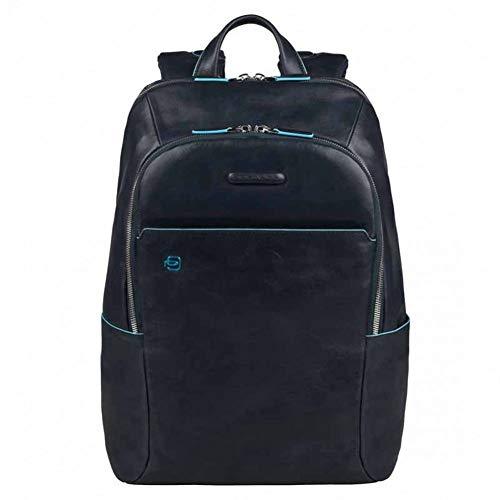 Piquadro Blue Square Zaino porta computer con compartimento porta iPad®/iPad®mini imbottito - CA3214B2 (Blu notte)