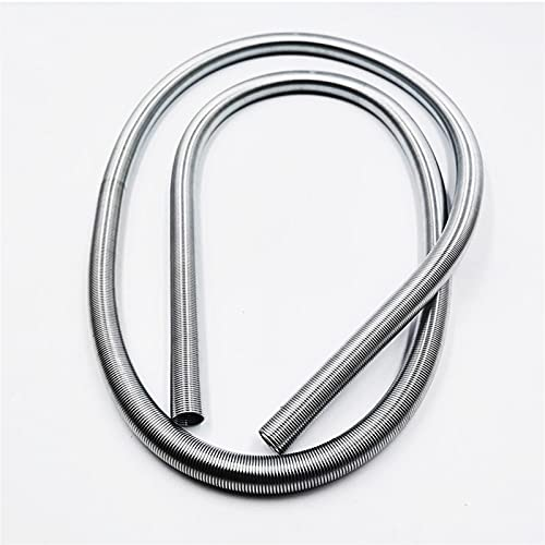 Myouzhen-Compressed Spring 2PCS Small Thin Long Compression Extension Spring, 0.2mm Wire Diameter(1-3) mm Out Diameter1000mm Length, Long Service Life (Length : 0.2x3x1000mm)