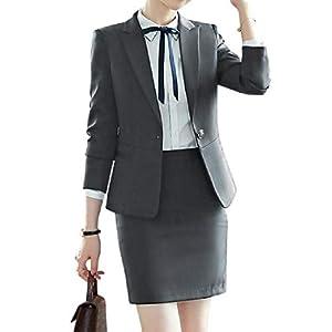 formelle Bürouniform-Designs für Damen, Business-Anzüge, Rock und Jacke, Schwarz, Blazer für Damen, Büro und Uniform