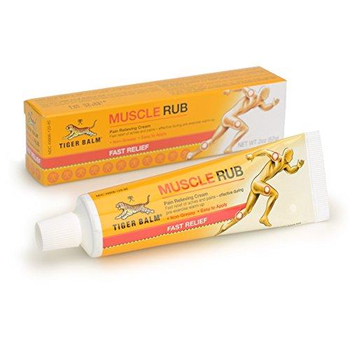 LOT 3 Crèmes chauffantes relaxantes - Véritable Baume du tigre - gel pommade muscles - sports et loisirs - douleurs musculaires, articulaires, courbatures - Naturel - Tiger balm muscle rub - 30g