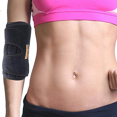 Everyday Medical Elbow Brace for Arthritis and Cubital Tunnel Syndrome I Elbow Immobilizer Splint for Tennis Elbow I Stabilizer Support Splint with Removable Splint I Fits Both Arms I Unisex | S/M