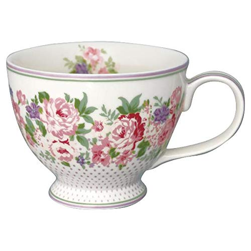 GreenGate - Teetasse - Tasse - Rose White - Porzellan - 400 ml