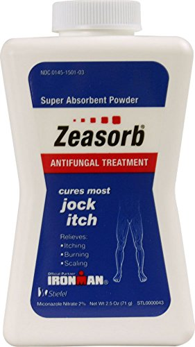 Zeasorb-AF Super Absorbent Antifungal Treatment Powder for Jock Itch 2.5 oz (Pack of 11)