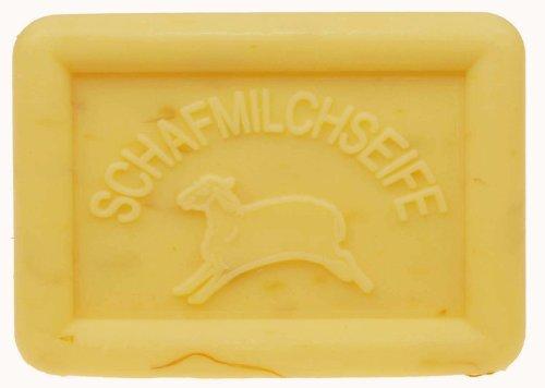 einseifer Ovis Latte di pecora sapone Arnica, forma quadrata, 100G, 1pezzo
