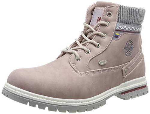 Dockers by Gerli Unisex-Kinder 45BI701 Combat Boots, Pink (Rosa 760), 38 EU