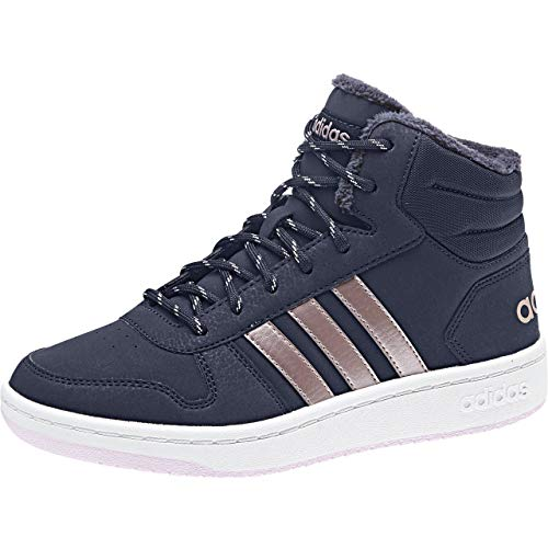 adidas Unisex-Kinder Hoops Mid 2.0 Basketballschuhe, Blau (Legink/Vagrme/Trablu Legink/Vagrme/Trablu), 36 2/3 EU