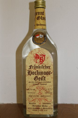 Alexander Betke FränkischerHochmoorgeist Obstbrand (1 x 0.7 l)