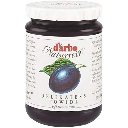 Darbo Naturrein - Delikatess Powidl (Pflaumenmus) - 6 x 450 g