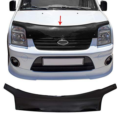 Motorhaube Deflektor Insekten & Steinschlagschutz Kompatibel mit Ford Connect Tourneo Transit 2002-2014