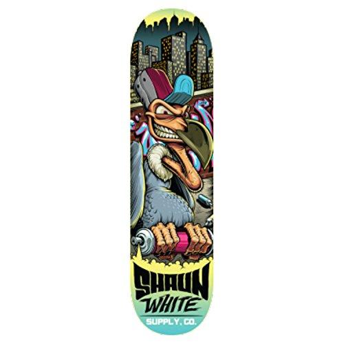 Shaun White Vulture 2.0 - Skateboard completo, 20,3 cm