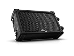 """3W class B lo-fi amplifier and 3"""" neodymium speaker 1/4"""" instrument input for guitar, bass, and other instruments 1/4"""" output for use with external amplifier or speaker; headphone must be connected to a device Integrated iRig circuit lets you use you..."""