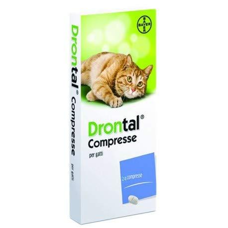 CentroVete Bayer Vermifugo antiparassitario per Gatto in compressa (24 CPR) - combatte i Principali parassiti intestinali