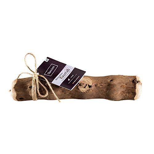 Chewies Kaustab aus Weinreben - Kauknochen und Kauspielzeug für Ihren Hund - natürlich, nachhaltig, mineralstoffreich, Holz ohne Schadstoffe (geprüft) - Größe M: Für Hunde bis 15 kg