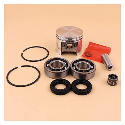 Ajuste perfecto 42.5mm Anillos de pistón Conjunto de sellos de aceite en forma para S-TIHL MS250 MS 250 025 Piezas de reemplazo de motosierra Nuevo Buena resistencia a la abrasión