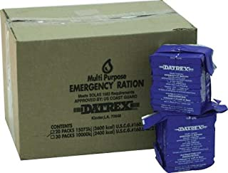 Datrex 3600 Emergency Food Bar - Case