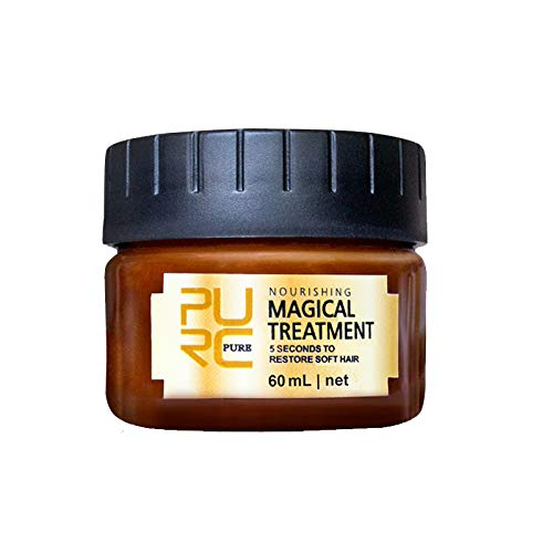 Magical keratin Hair Treatment Mask 5 Seconds Hair Root Repair 60ML Nourishing Soft Hair Tonic Keratin Hair Scalp Treatment