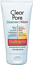 Neutrogena Clear Pore Cleanser/Mask 4.20 oz ( Pack of 2)