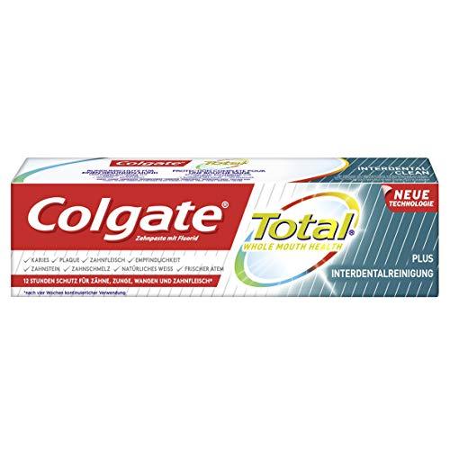 Colgate Total Plus Interdentalreinigung Zahnpasta, 75 ml