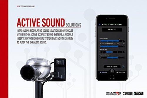 Milltek SSXAU676 2013 A6 C7 3.0 Bi-TDI Aktive Sound Control