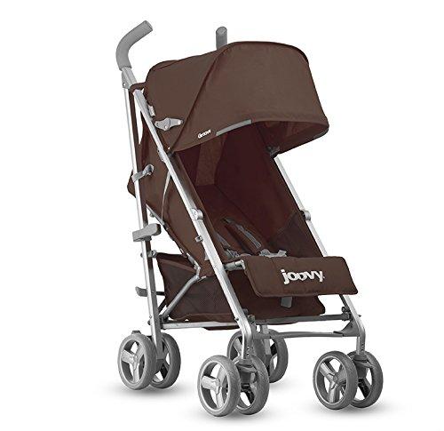 Joovy Groove Regular - Silla de paseo plegable y multifuncional, color marrón