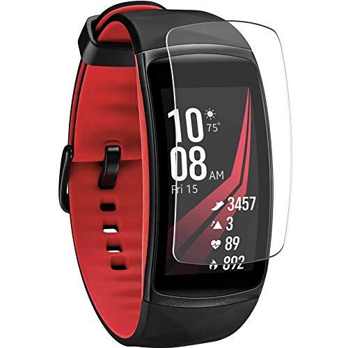 Vaxson 4-Pack TPU Pellicola Protettiva, compatibile con Samsung Galaxy gear fit2 pro / fit2 fit 2, Screen Protector Film [ Non Vetro Temperato ]