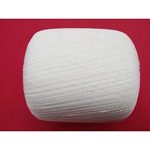TOMASELLI MERCERIA Cotone Filo Scozia Uncinetto N 16 Gomitolo Grammi 100 - Bianco
