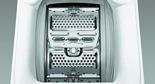 Zanussi ZWQ61235CI Lavadora de Libre Instalación, Carga Superior, 6 Kg / 1200 rpm, 8 Programas, Programa Rápido en 30…