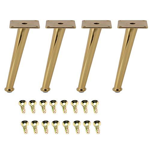 Patas de mesa doradas para muebles, 4 unidades, 200 x 80 mm, patas ...