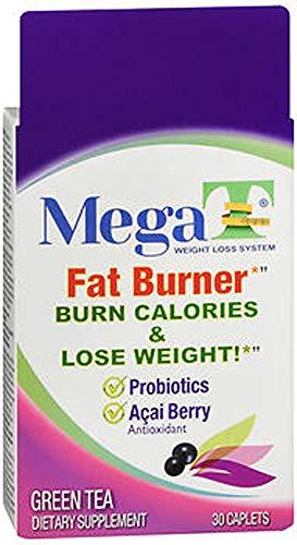 MEGA-T Green Tea Caplets with Probiotics and Acai Berry - 30 ct