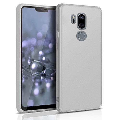United Case Cover Resistente per LG G7 ThinQ   Bianco Trasparente   Protezione Antiurto