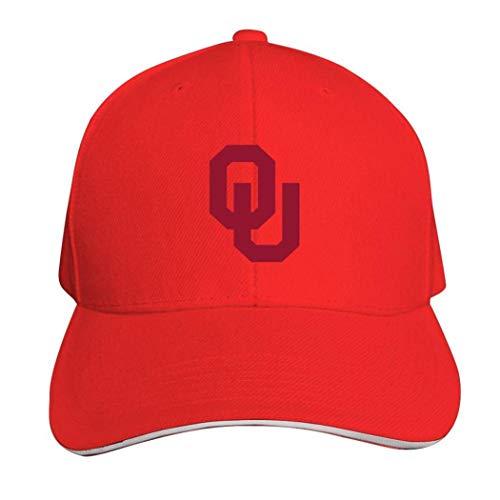 Oklahoma Sooners Football Casquette Hat Neutral Verstellbar Truck Driver Cap, Herren, 457PWM6-SOI-CJS, rot, Einheitsgröße