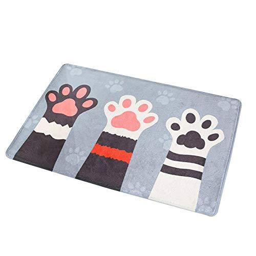 dingtian Fußmatte Katze Cartoon Badezimmer Küche Fußmatte Teppiche Bereich Teppich...