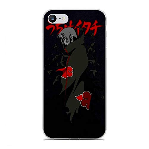 SweetST Shell Clear Coque Ultra Thin TPU Soft Silicone Frosted Compact Case Cover For Apple iPhone 6 Plus/6s Plus-Anime-Naruto Uzumaki-Kakashi 7