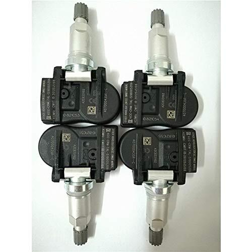 Sensor de presión de neumáticos 4pcs TPMS Sensores de presión de neumáticos OE # 40700-0435R 407003743R 407000435R for Laguna Fluence for la latitud de Renault Megane Para inspección de neumáticos