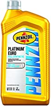 Pennzoil Platinum Euro Full Synthetic 0W-40 Motor Oil, 1 Quart