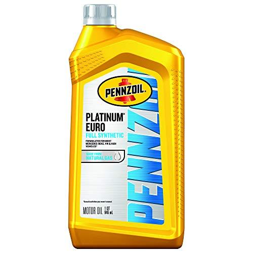 Pennzoil Platinum Euro Full Synthetic 0W-40 Motor Oil, 1 Quart