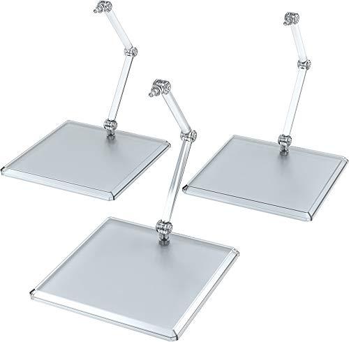 THE シンプルスタンド 3個セット クリアABS製 ディスプレイ台座 フィギュア&模型用