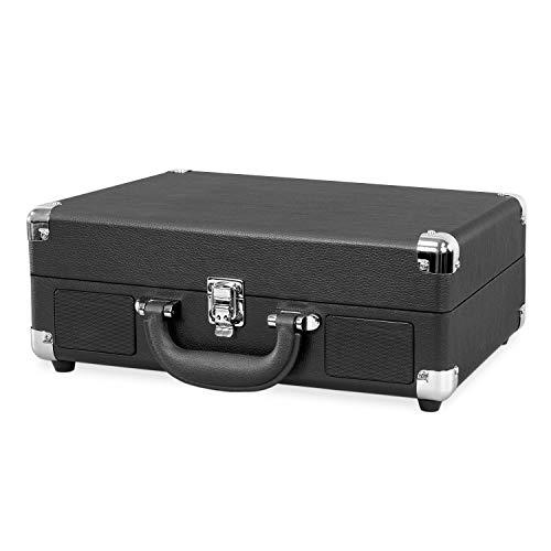 Victrola Suitcase Bluetooth 3-Speed Turntable - Black