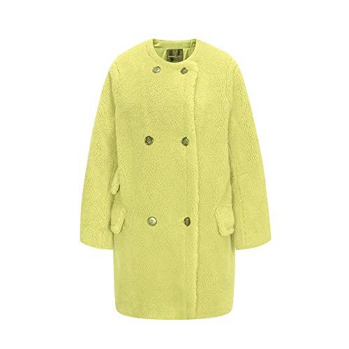 ZXCASD Imperméables Femme Automne Hiver Outdoor Lapel Sweat-Shirt Mode Souple Loisirs Full Zip Cardigan Nounours Manteau Sweatshirts pour Noël Vestes,D,S