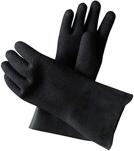 Checkup Dive Systems Unisex– Erwachsene Handschuhe Pro-Touch, Schwarz, 2XL