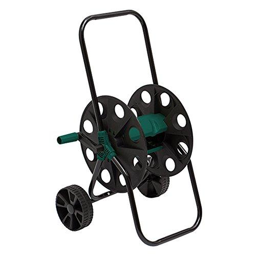 Siena Garden 282659 Schlauchwagen Kunststoff mit Stahlrohr, grün/schwarz