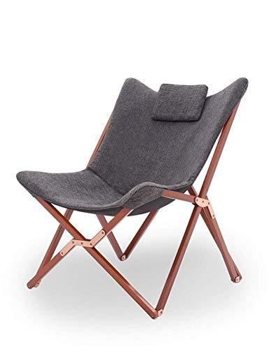 ZHUAN Chaise Pliante Jardin Patio Confortable Outwell Camping Pliable Plage Pont Portable Inclinable Canapé Fauteuil Salon Salon Inclinable Transat