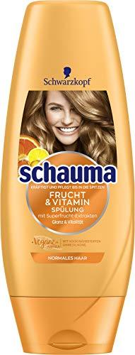 SCHWARZKOPF SCHAUMA Spülung Frucht & Vitamin, 1er Pack (1 x 250 ml)