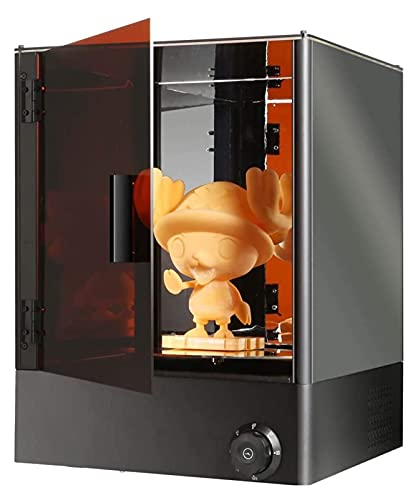 RSBCSHI 3D Printer UV Light Curing LCD 3D Printer, 360° Rotating Platform, 90 Minutes Free Timing, Large Print Size 13.38X 13.38X 13.38 Inches, Used In Offices, Classrooms, Gifts, Black