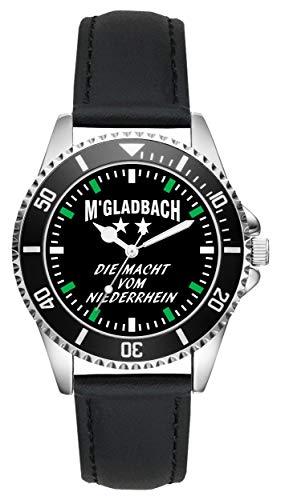 Gladbach Mönchengladbach Geschenk Artikel Idee Fan Uhr L-6035