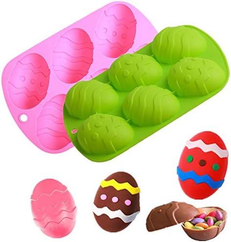 Easter Chocolate Molds 3D Dinosaur Egg Shape Rabbit Bunny Cake Baking Mold DIY Non Stick Chocolate product image