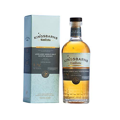 Kingsbarns FAMILY RESERVE Lowland Single Malt Limited Release 2020 Whisky (1 x 700 ml)