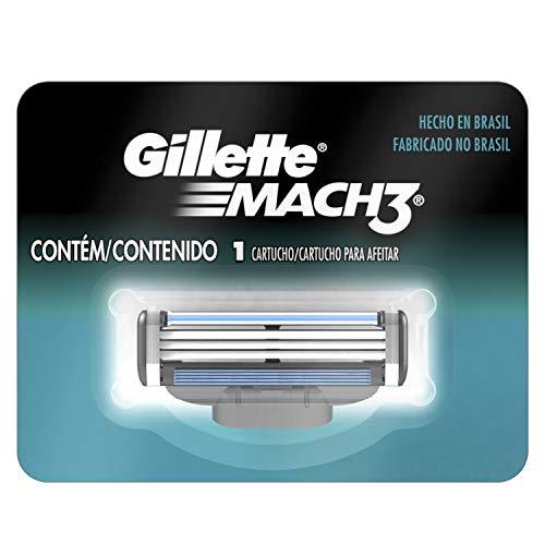 Carga para Aparelho de Barbear Gillette Mach 3 - 1 unidade