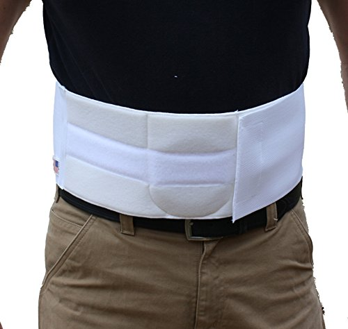 """Standard Up To 50"""" Around Waist ; 6"""" High. Use size guide to determine acurate size. Size Guide can be found in """"Additional Image"""" and in the product description. Helps Support and Retain Umbilical Hernias Provides Compression to the Entire Abdomen R..."""